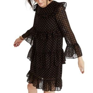 Madewell Ruffle Mini Dress